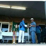 2011 AHMED NANABHAY WINS PLAYER OF THE TOURNAMENT AMS CRICKET